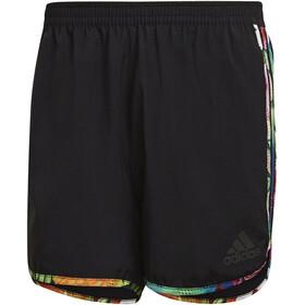 """adidas Floral M20 Shorts 5 """" Herrer, sort/farverig"""